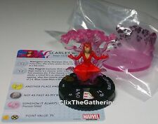 SCARLET WITCH 055 Uncanny X-Men Marvel HeroClix Prime Super Rare