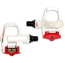 2017 LOOK KEO 2 Max Special Limited Edition Pedals & Gray Grip Cleats: WHITE/RED