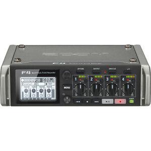 Like-N-E-W-Zoom-F4-Multitrack-Recorder-6-Inputs-8-Tracks-Opened-Box-Never-Used