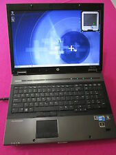 HP 8740w elitebook laptop I7-640m 2.8-3.46Ghz 6GB ram NEW 500GB hdd K1100m W7