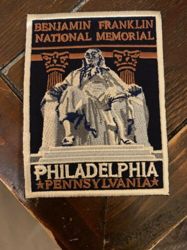 Benjamin Franklin National Memorial Patch NPS