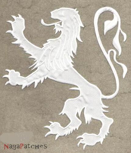 Patch écusson patche Lion medieval chevallier déguisement DIY thermocollant