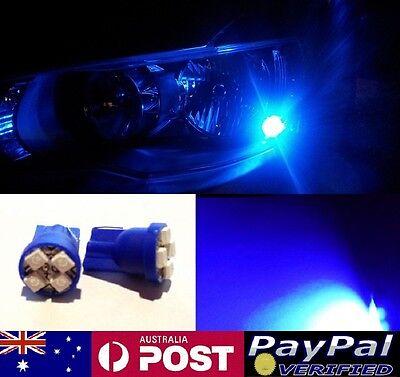 Blue LED T10 Parker Bulbs - Nissan Skyline R31 R32 R33 R34 Stagea C34
