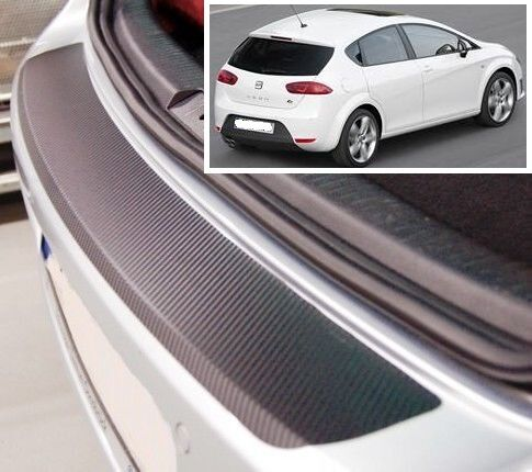 Seat Leon MK2 - Carbon Style rear Bumper Protector