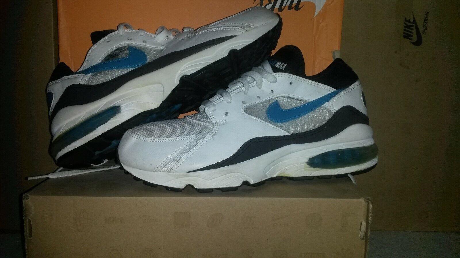 Nike air max 93 og 44 2003  hoa 1 180 90 95 97 stab ltd classic bw