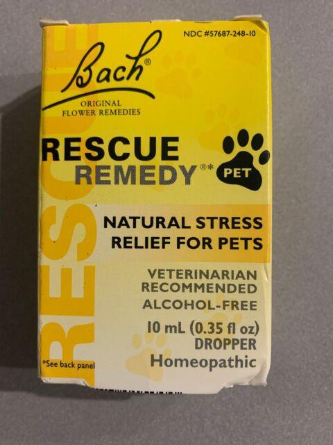 Bach, Original Flower Remedies, Rescue Remedy Pet, Natural Stress Relief SALE