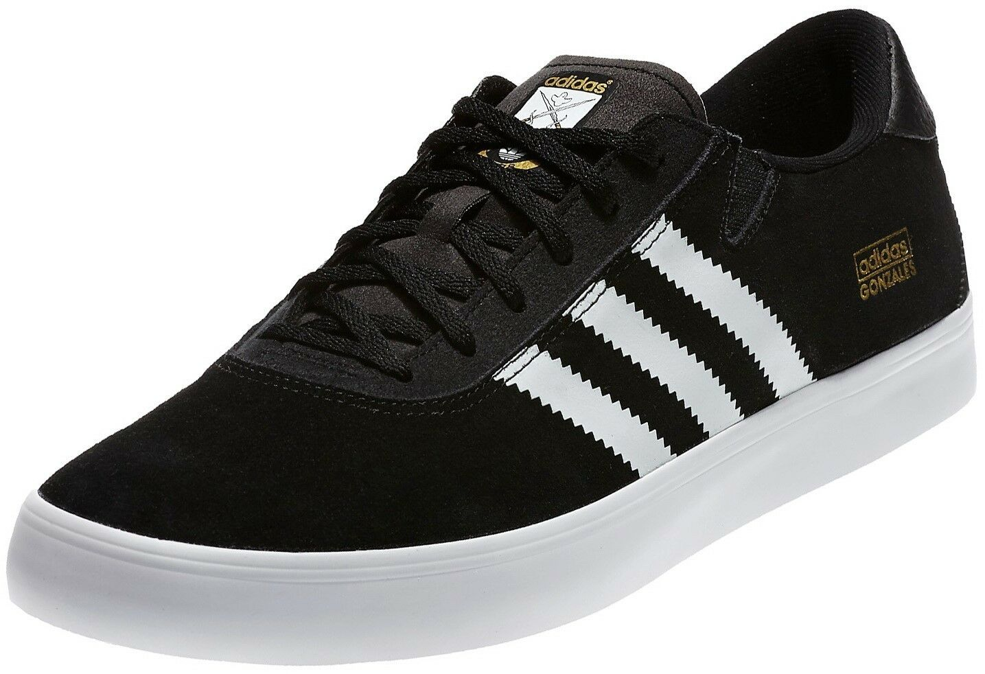 ADIDAS ORIGINALS GONZALES GONZ PROS Homme TRAINERS SKATE ChaussuresTaille 6 - 13