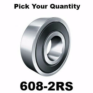 608-2RS-8x22x7-Precision-Double-Shielded-Greased-Ball-Bearings-608-RS-Wholesale