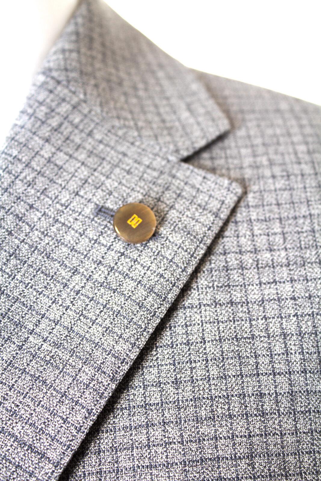 DAKS Sakko Sakko Sakko Wolle Herren Gr. 50 in Grau NEU     Shopping Online    Preisreduktion    Bekannt für seine gute Qualität  a0074b