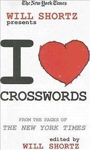 New York Times Will Shortz Presents I Love Crosswords ...
