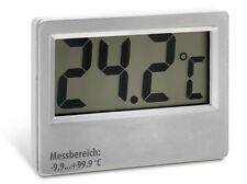 Saunathermometer groß bis 100°C Kabellänge: 5m digital LCD Sauna Thermometer