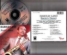 HAROLD LAND Xocia's Dance CD RARE 1990 Vogue Bobby Hutcherson George Cables 1982