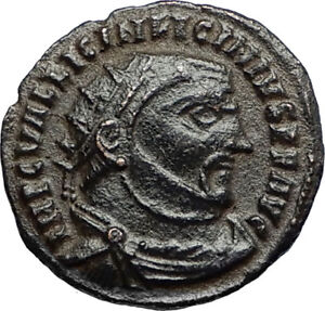 LICINIUS-I-Enemy-of-Constantine-the-Great-312AD-Ancient-Roman-Coin-w-ZEUS-i67418