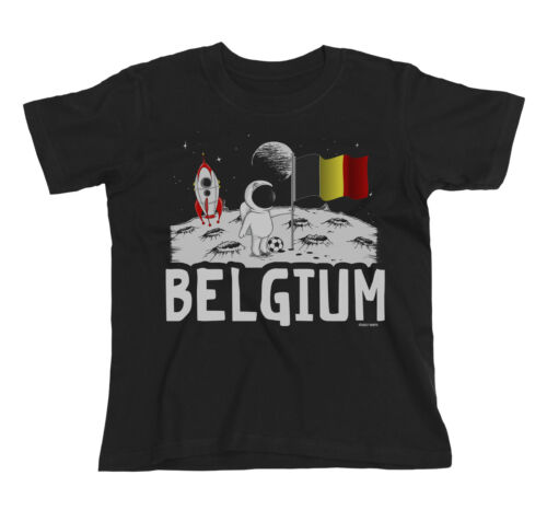 BELGIUM Patriotic Fan Kit T-Shirt Football Choice of Mens Womens Kids Baby Grow