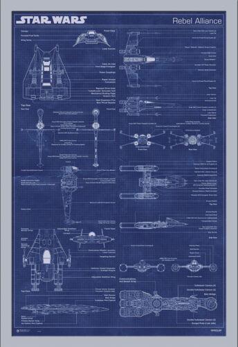 Star Wars-Rebel Alliance Machine Poster Poster-Size 61x91,5 cm