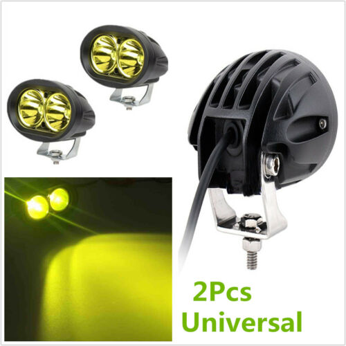 entrepreneur.cd 2Pcs Universal Yellow CREE 20W LED Work DRL Light ...