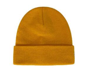 New Era Cuff Knit Saffron Yellow Beanie 12638434 One Size