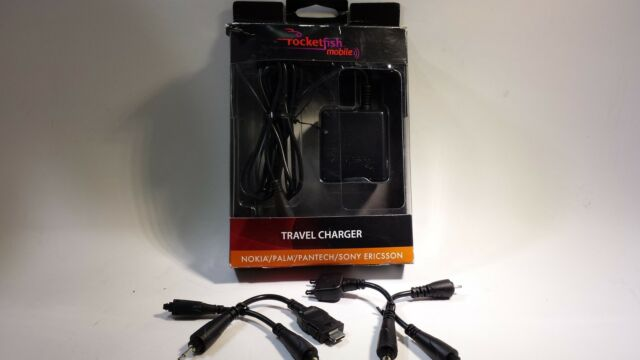 Rocketfish Mobile Multitip RF-MLT90 Charger Nokia Palm Pantech Sony Ericsson