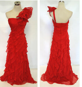 NWT Morrell Maxie $490 Red Evening Prom Party