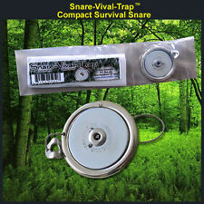 Snare-Vival-Trap Pocket Snare! Lightweight! Hunting/Fishing/Camping/Survival