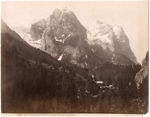 Sommer-Giorgio-Suisse-Rosenlaui-Glacier-vue-generale-sur-le-glacier-Vintage