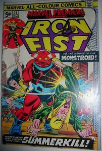Marvel Premiere 24 Marvel comic VG IRON FIST SEPT 1975 9PENCE more save PampP - Downham Market, Norfolk, United Kingdom - Marvel Premiere 24 Marvel comic VG IRON FIST SEPT 1975 9PENCE more save PampP - Downham Market, Norfolk, United Kingdom