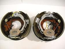 "2x 12-1/4x3-3/8"" 9K 10K GD Electric Backing Plate 10000 Trailer Brake Fit Dexter"