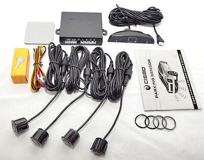 Turquoise Blue CISBO 18mm Detachable Rear Reverse Parking Sensor 4 Sensors Kit Audio Buzzer Kit