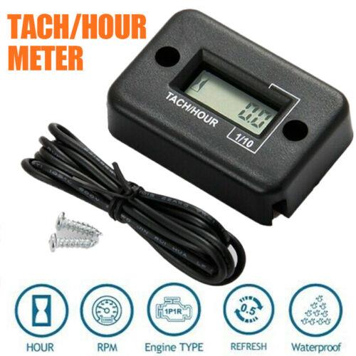 Digital Drehzahlmesser Tachometer Rasenmäher 2//4 Hub Kettensägen Motoranzeigen