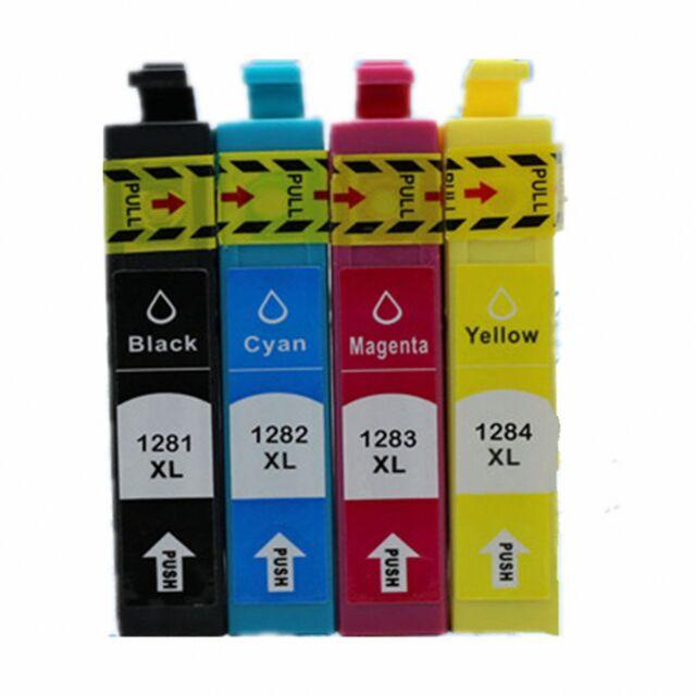 MultiPack cartuchos tinta genéricos T128X NON OEM T1281 T1282 T1283 T1284
