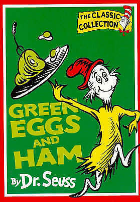 1 of 1 - GREEN EGGS AND HAM BY DR. SEUSS PAPERBACK 1997 USED
