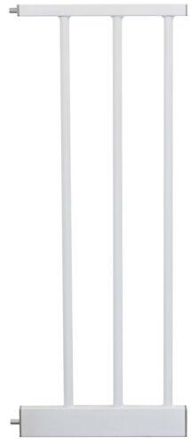 Verlängerungen//Erweiterung Tür-/& Treppenschutzgitter IB-Style MEGANE weiß//grau
