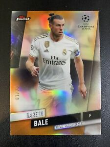 Gareth Bale 2019 Topps Finest #67 Refractor ORANGE #01/25 SSP Real Madrid