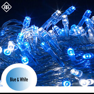 800 Led Christmas Lights String Outdoor Fairy Party Wedding Light
