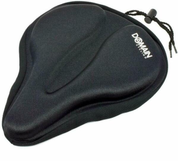 cover bin#4 Comfort Wide Big Bum Soft  Bike Seat Saddle Bicycle Seat Cushion