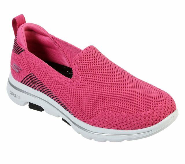 skechers womens pink sneakers