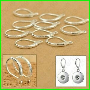 100Pcs-925-Sterling-Silver-Earring-Hooks-Beads-For-Jewelry-Making-Ear-Wires-Set