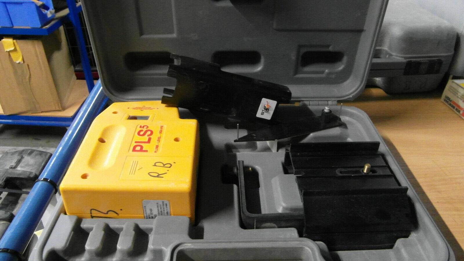 PLS 5 Laser Punkt Laser pacific Laser systems  Gerät im Koffer rechnung