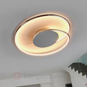 LED-Deckenleuchte Joline Chrom Deckenlampe LEDs Küche Wohnzimmer ...