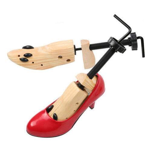 Wooden 2-Way Shoe Stretcher Adjustable Length and Width For Men And Women