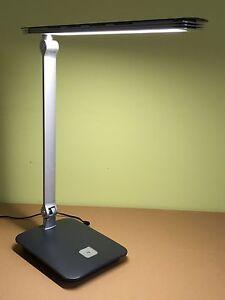 led schreibtischleuchte schreibtischlampe tischleuchte tischlampe dimmbar ebay. Black Bedroom Furniture Sets. Home Design Ideas