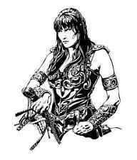 """XENA"" Warrior Princess  NEW CUSTOM  VINYL DECAL  STICKER  12"" 1/4  x  9"" 3/4"