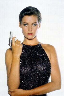 roulette wheel License to Kill 8x12 photo Carey Lowell