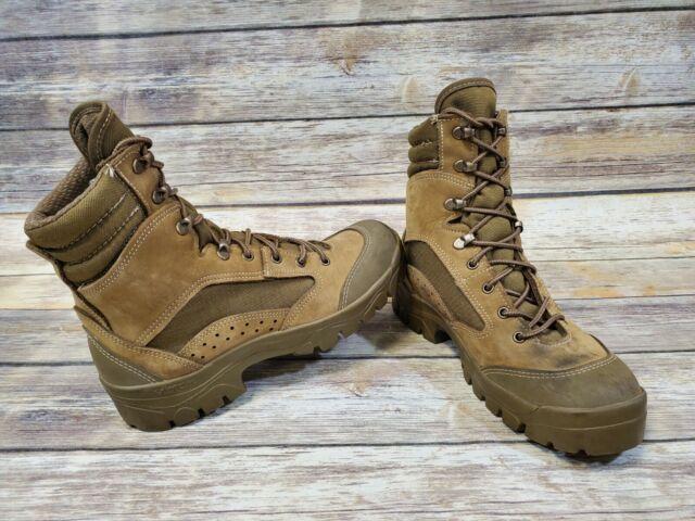 79211cc0e73 Bates 3612-B Men's Olive Mojave Combat Hiker Boots size 8 R