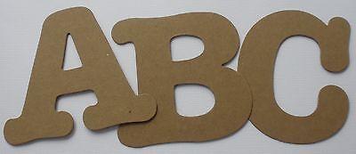 LOLLIPOP FONT Lowercase Alphabet Letters Bare Chipboard Die Cuts 62 Pc