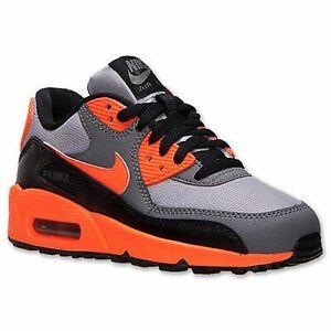 Details about Nike Air Max 90 (TD) Toddler Shoes Sneakers 408110 036 GrayOrange sz 4C, 6C, 8C