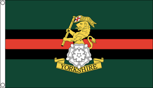 Yorkshire Regiment Large Flag 5x3/' Banner York Catterick Garrison Armed Force