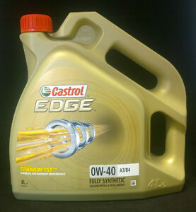 Castrol-Edge-0W40-A3-B4-With-Titanium-FST-Fully-Synthetic-Engine-Oil-4L-4-Litres