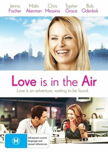 1 of 1 - Love Is In The Air (DVD) COMEDY Jenna Fischer Malin Akerman [Region4] NEW/SEALED