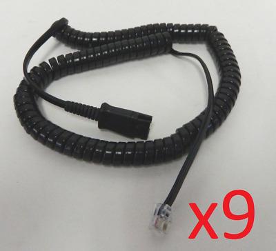 U10 QD cable 26716-01 for Plantronics M22 /& Cisco 7941 7961 7971 7975 7985 8841